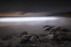 Passing Time (maxxsmart) Tags: ocean california longexposure sunset sea sky bw cliff 3 seascape color fall beach northerncalifornia rock clouds canon sand pacific 9 lee bayarea marincounty pointreyes landscpae westcoast 2009 mccluresbeach ef1740f4l gnd oceanscape nolayers ndgrad bwnd110 bw10stopnd 5dmarkii 10stopsolidnd hardedgendgrad