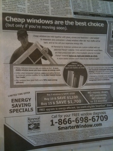 Cheap Windows - Renewal by Anderson