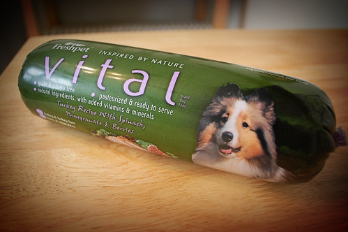 Vital dog food from Fresh Pet