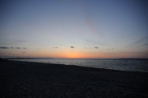 Sunrise at Oriental Point