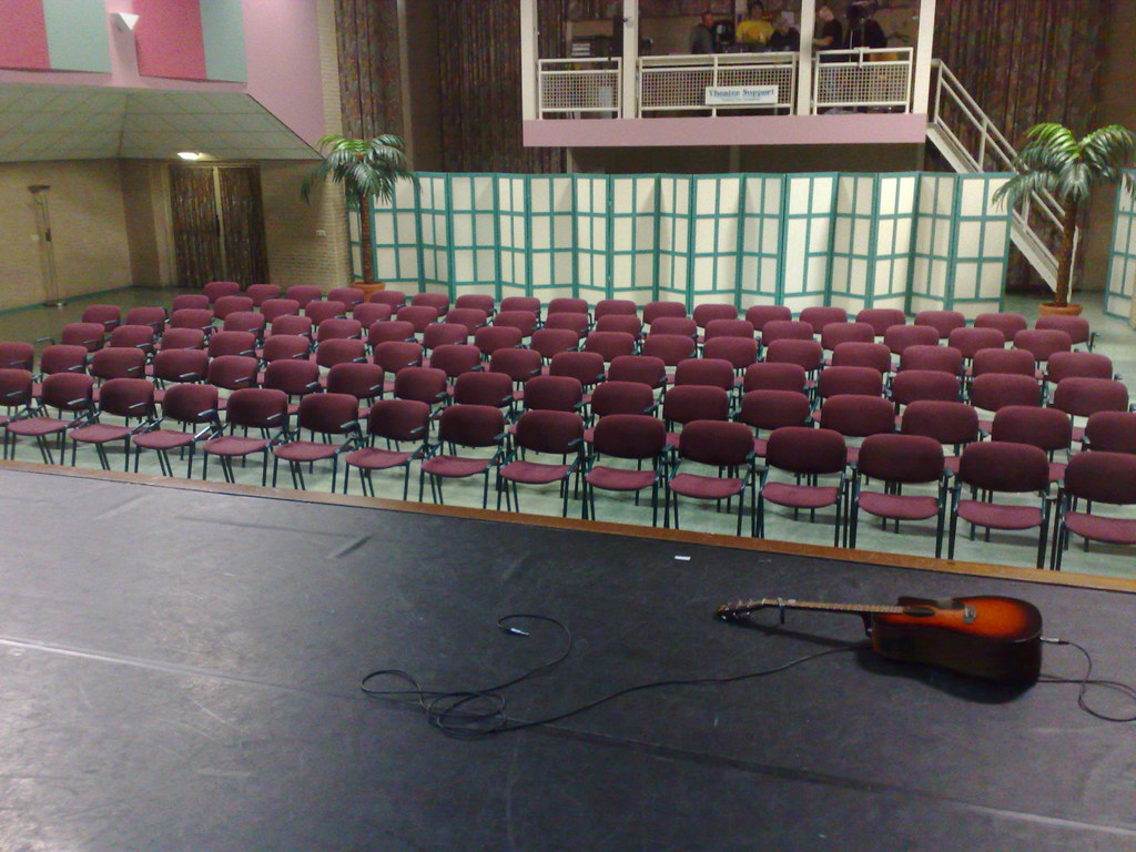 Foto vanaf het podium in Den Durpsherd