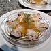 牡蠣の冷製コンソメゼリーソース