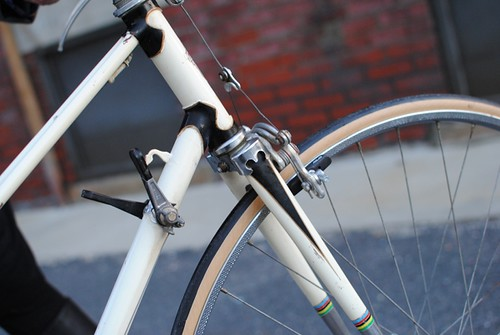 Mercier Mixte: Headtube Lugs, Downtube Shifters