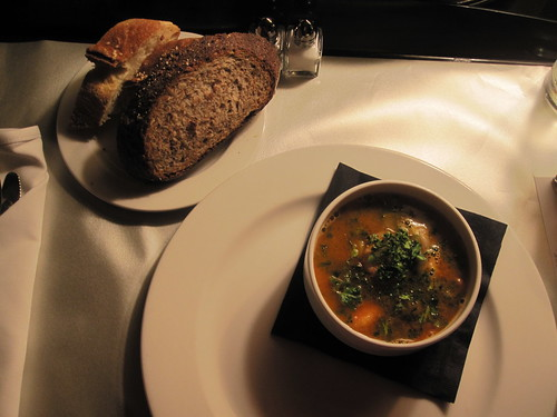 Polish stew, bread