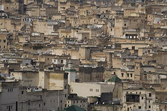 The Medina of Fez (a n j a) Tags: old city view rooftops northafrica historic morocco fez medina marokko moroccan fes