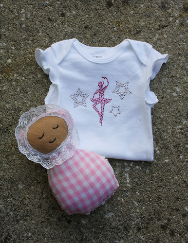 Ballerina Onesie and Doll