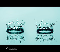 Crown   (Abdulrahman Alyousef [ @alyouseff ]) Tags: photography photo yahoo drops nikon flickr crown sb 900 pp     d80    abdulrahman                alyousef