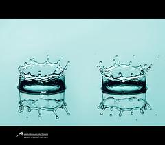 Crown   (Abdulrahman Alyousef [ @alyouseff ]) Tags: photography photo yahoo drops nikon flickr crown sb 900 pp     d80    abdulrahman                alyousef