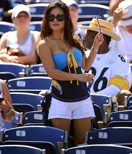 Hot Sports Fans San Diego Super Chargers