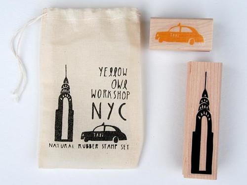 nyc stamp set