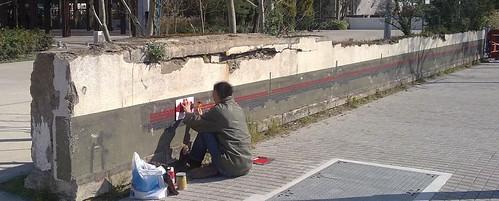 artiste de mur