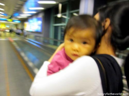 Arrival at Changi Terminal 2