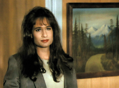 david duchovny twin peaks. David Duchovny in drag: