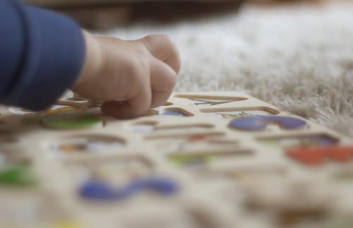 436:1000 Puzzle bokeh