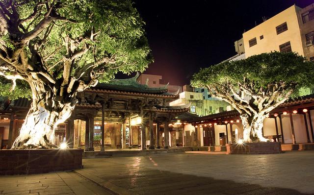 鹿港-夜拍龍山寺