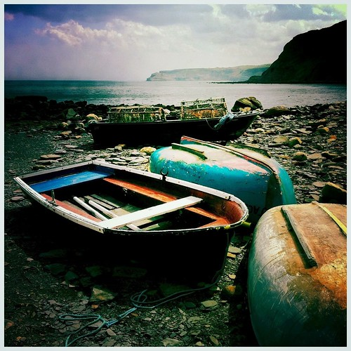 Boats, Port Mulgrave, Yorkshire