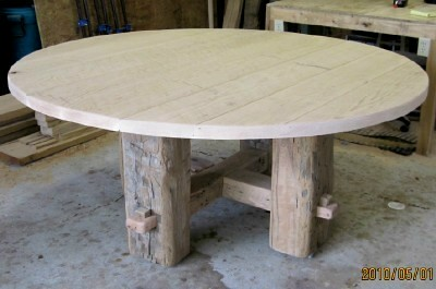 Rustic Round Table w