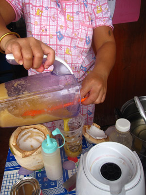 น้ำผัก-ผลไม้ปั่นอร่อยที่สุดในกรุงเทพ