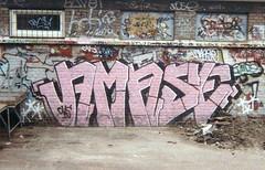 1989 (capitano26) Tags: street art graffiti graffitti thehague amaze amase wallbombing