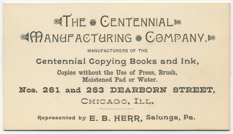 Centennial Manufacturing Company