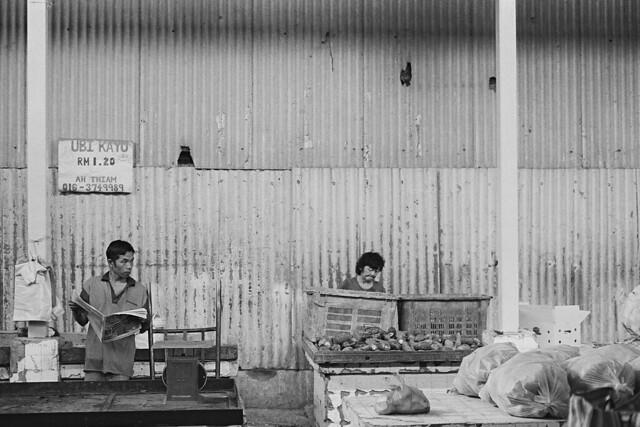 Chow Kit Pasar B&W