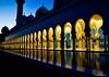 Sheikh Zayed Mosque (@mons.always) Tags: reflection nikon mosque abudhabi d90 18105mm sheikhzayedgrandmosque