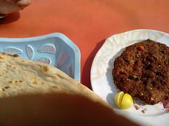 Near IIUI Campus Islamabad Pakistan (Four Wanderers) Tags: life pakistan food campus great wanderers sir wanderer naan dhaba admirer islamabad dhabba chappal kebaab iiui kabuli