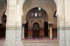 L1000608 (H Sinica) Tags: morocco 摩洛哥 fez fes 非斯 medina medersa bouinania