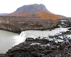 Þjófafoss í Þjórsá (skolavellir12) Tags: iceland þjórsá river glacial outdoor water búrfell þjófafoss canon rebel magnús