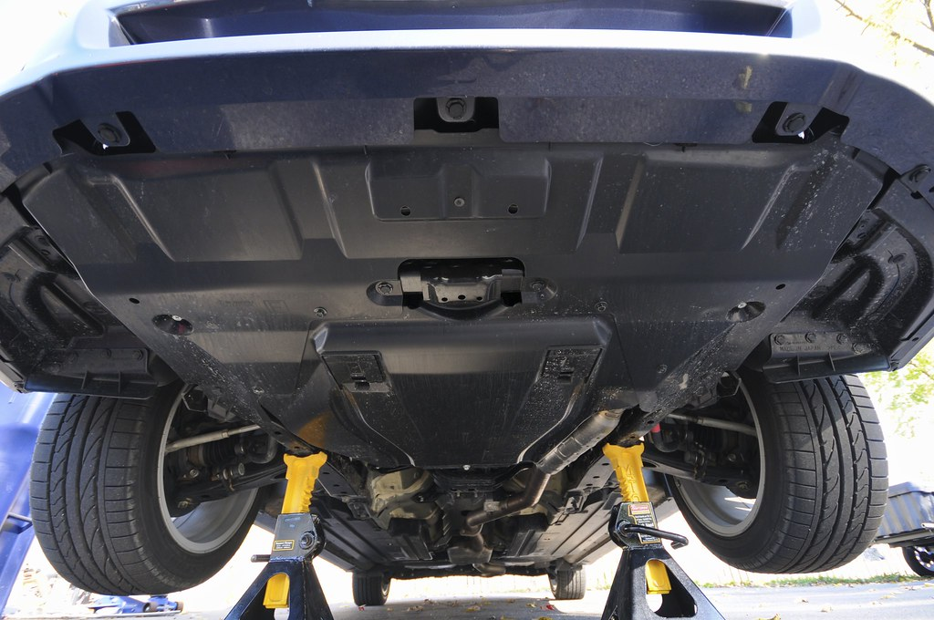 2010 Ford Fusion Oil Change >> Can you lift hte OB rear under the differential ? - Page 2 ...