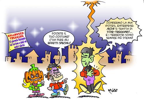 Halloween-Trekking