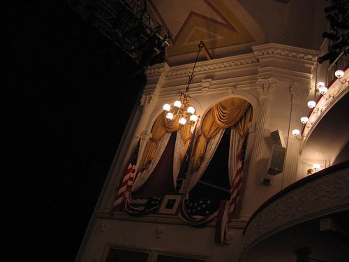 Ford's Theatre presidential box
