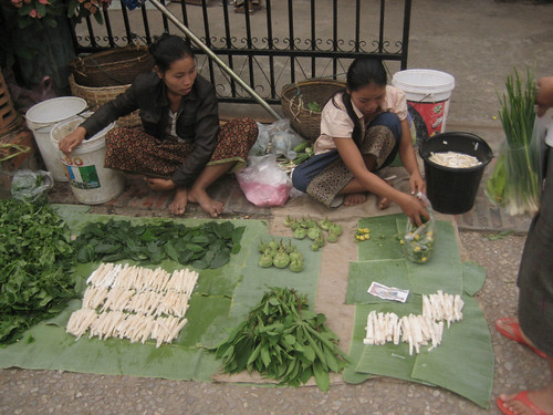 Morning Market in Luang Prabang