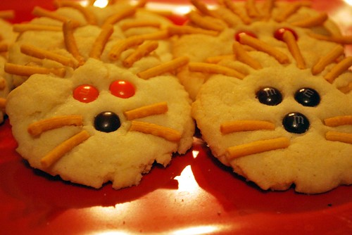 Cowardly Lion Sugar Cookies