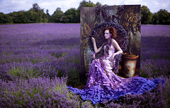 Wonderland : Portrait of a Princess (Kirsty Mitchell) Tags: girl fairytale purple lavender surrey fantasy wonderland kirstymitchell natashamusson elbievaneeden chair11fromebay