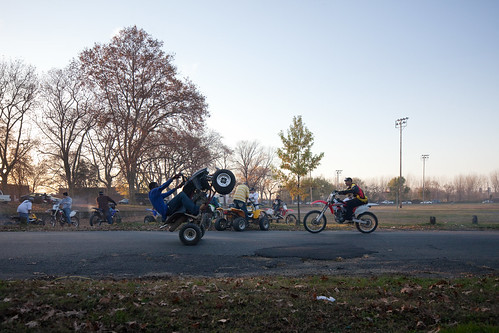 Camden Motorcycle Street Races