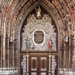 Stralsund: Entrance of St. Nicolas Church