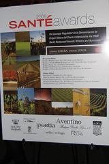 Drink Ribera. Drink Spain. Sponsors the Sante Awards Gala (Drink Ribera. Drink Spain.) Tags: sante drinkribera santerestaurantawardsgala