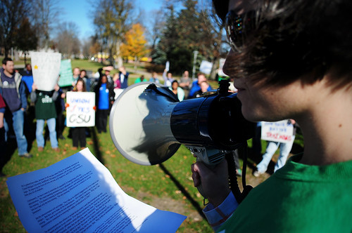 280/365 Graduate Student Union Rally