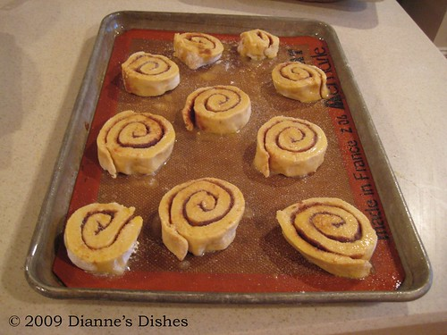 Pumpkin Cinnamon Rolls: Butter and Sugar