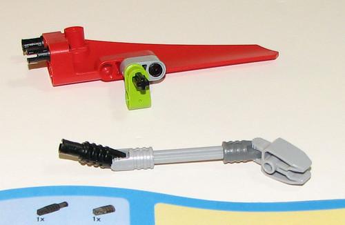 LEGO 8060 Atlantis - Typhoon Turbo Sub - Sub-assembly 6