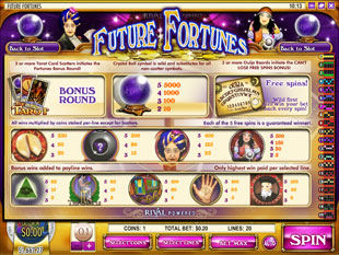 free Future Fortunes slot mini symbol