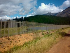 Dam FAIL (mallix) Tags: world africa vacation holiday tourism southafrica tour farm african fifa soccer country visit tourist peaches 2010 swellendam overberg saffer 2010worldcup eatalotofpeaches