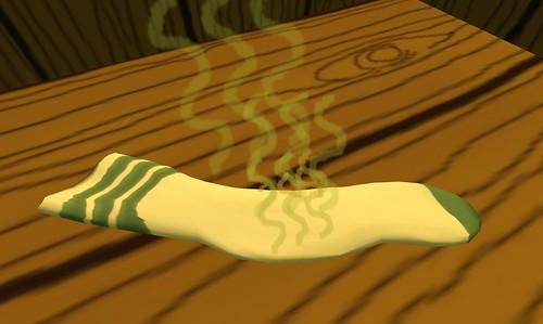 a smelly sock