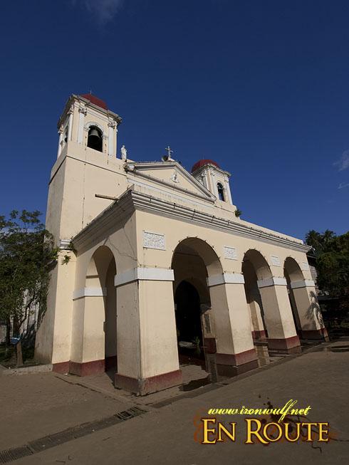 Taal Town Caysasay Church Facade