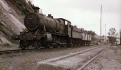 Photo of No 6368 2-6-0 4300 Class British Railway Steam Locomotive Machynlleth Shed Wales 1962