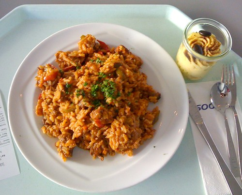 Pikantes Reisfleisch