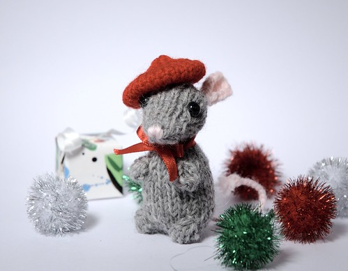 Holiday Mice Free Knitting Pattern From The Amigurumi Free
