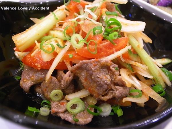 桃園台茂_紅舍泰式料理_涼拌牛肉