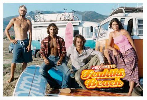fcuk Surf Vans Advert